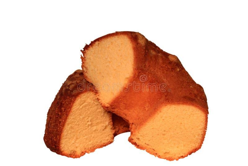 Selbst gemachter Pfundkuchen lizenzfreies stockfoto