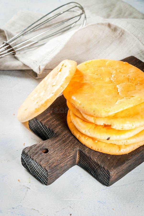 Selbst gemachtes Tortillawolkenbrot lizenzfreies stockfoto