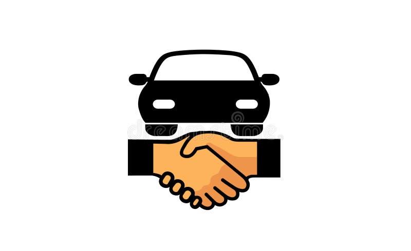 Selbstabkommen-Design-Illustration Logo Symbol lizenzfreie abbildung