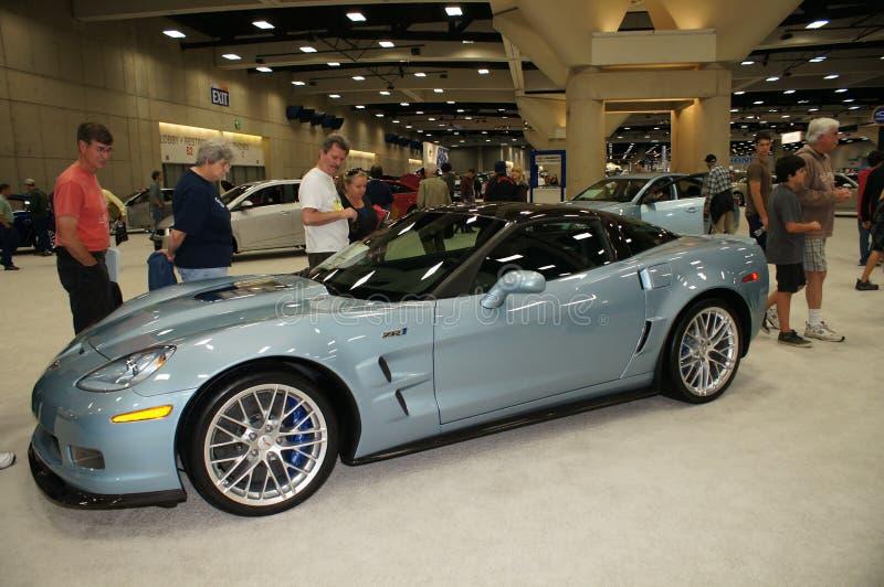 Selbsterscheinen Chevorlet ZR1Corvette stockfotos
