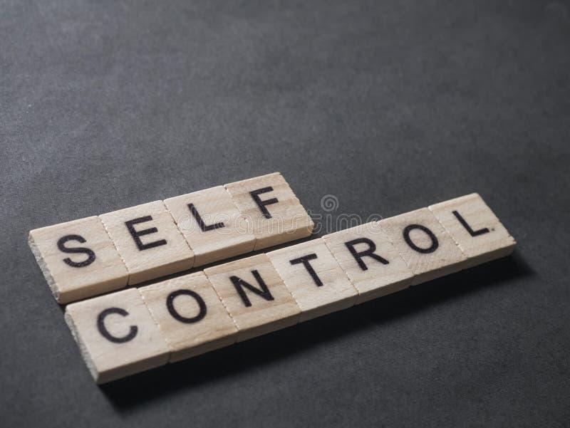 Selbststeuerung, Motivwort-Zitat-Konzept lizenzfreie abbildung