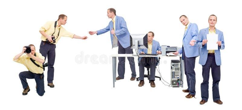Selbstverlags- Arbeitsfluß lizenzfreie stockbilder