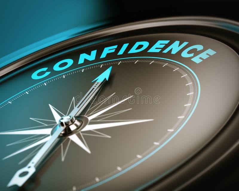 Selbstvertrauens-Konzept vektor abbildung