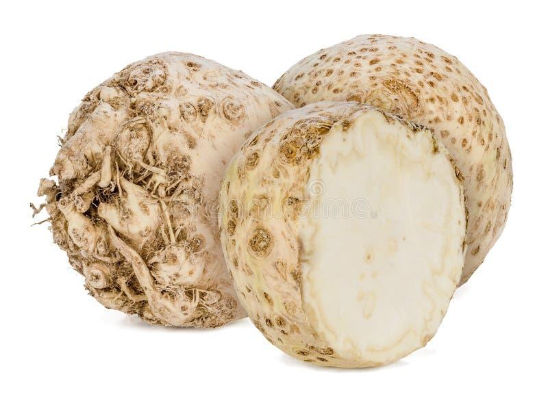 Selderiewortel stock foto