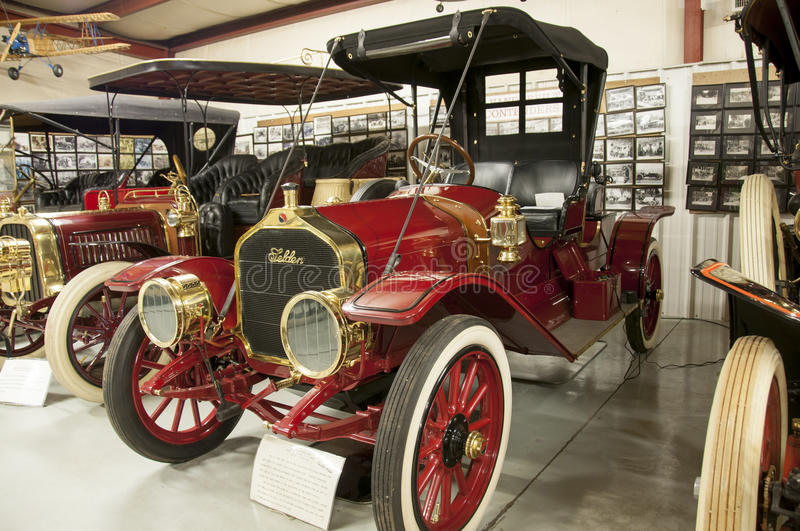 Seldon Roadster. This is a very old Seldon Roadster in museum quality Condition stock photography