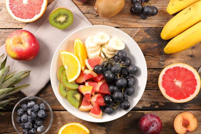 Seleção das frutas imagens de stock royalty free