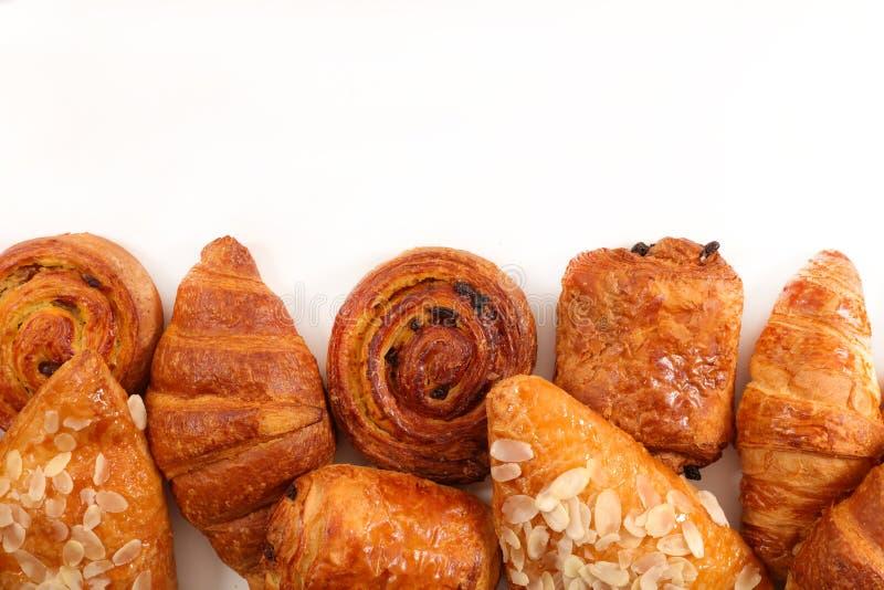 Seleção das pastelarias fotografia de stock
