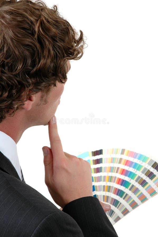 Seleção de cor fotos de stock royalty free