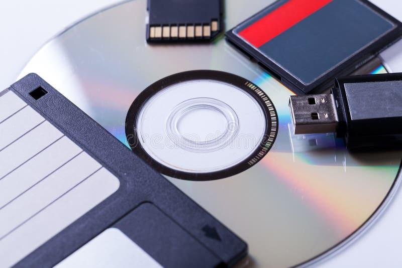 Download Selección De Dispositivos De Almacenamiento Del Equipo Diferente Foto de archivo - Imagen de tarjeta, digital: 41902794