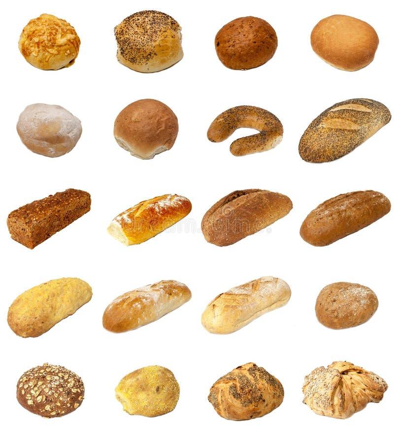 Selección del pan y del Bap imágenes de archivo libres de regalías