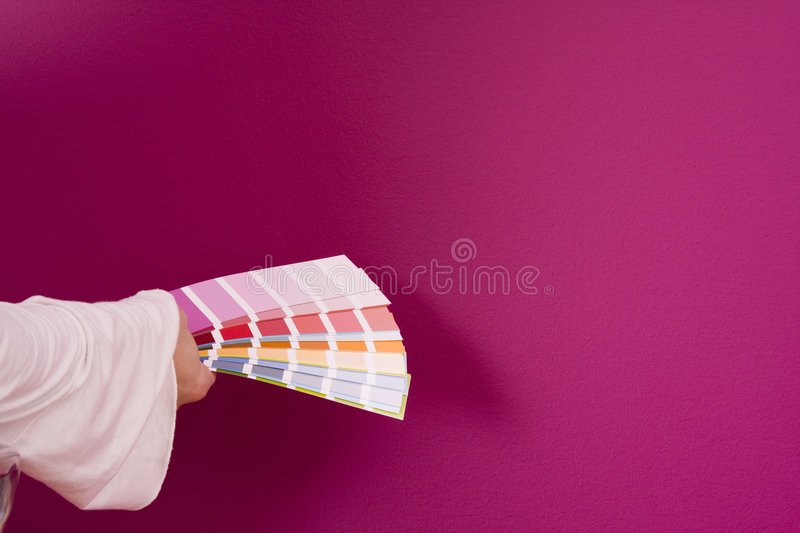 Select a color royalty free stock image