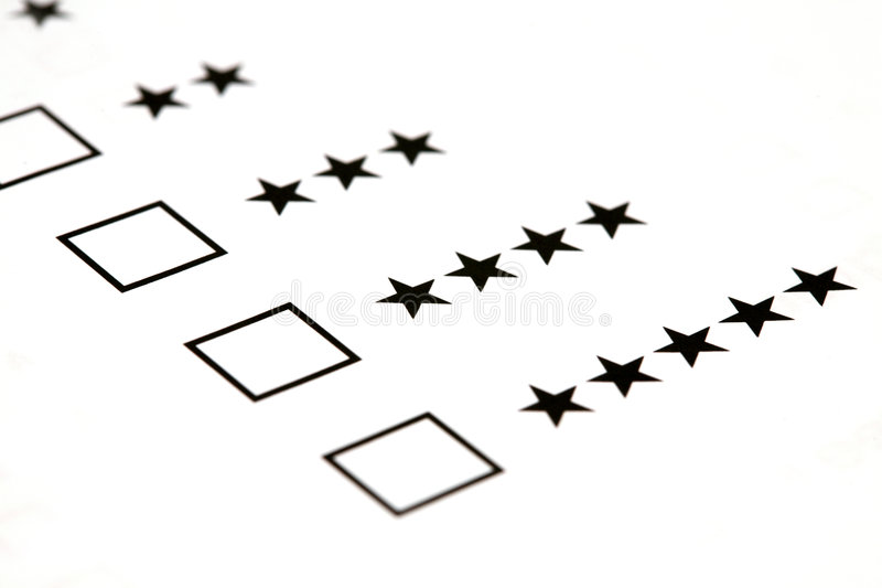 Download Select star level stock image. Image of checkbox, questions - 7753123