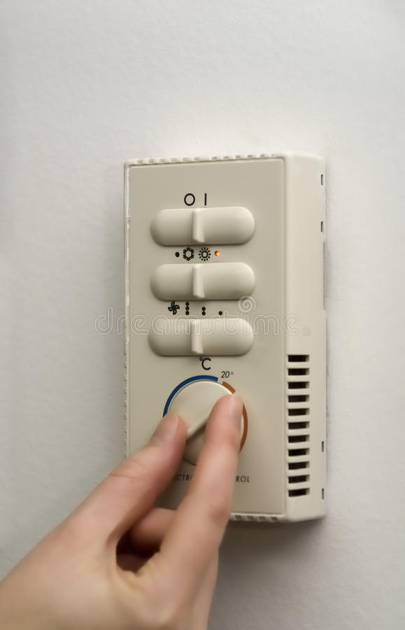 Download Select temperature stock photo. Image of control, conditioner - 9823036