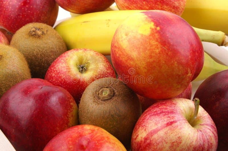 Selectie van vers fruit 3 royalty-vrije stock afbeeldingen