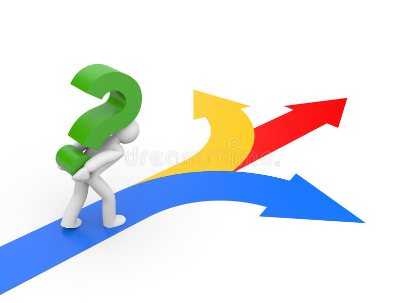Download Selecting The Right Direction Stock Photos - Image: 12781123