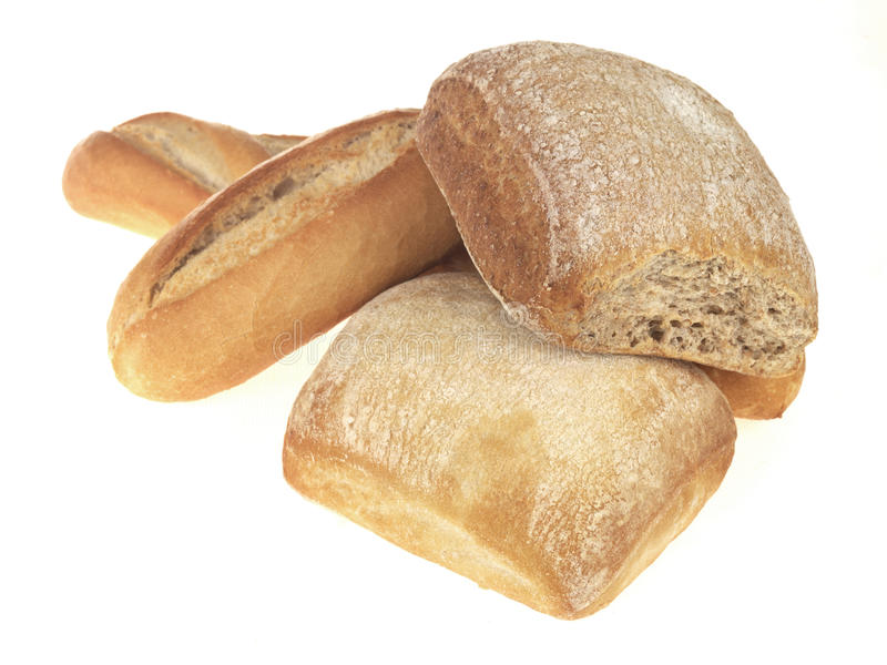 Selection of Baked Breads royalty free stock photography