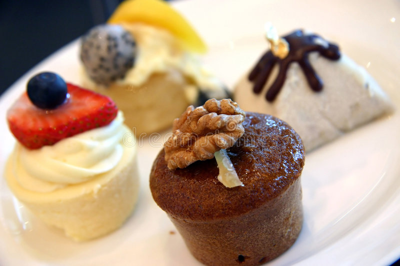 Selection Of Desserts Royalty Free Stock Image