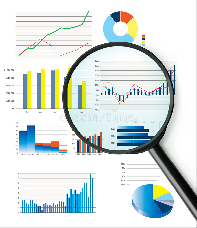 Download Selection Of Fictional Graphs Stock Illustration - Image: 17744772