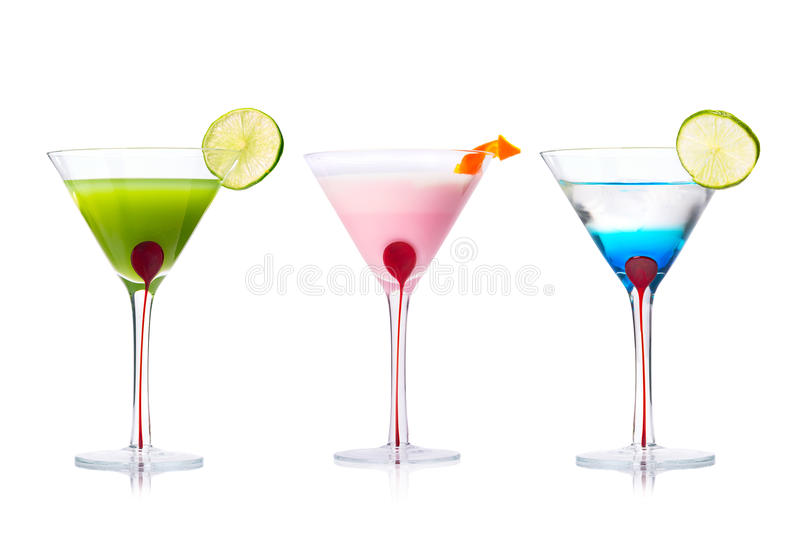 Download Selection Of Martini Cocktails Stock Image - Image: 38817233