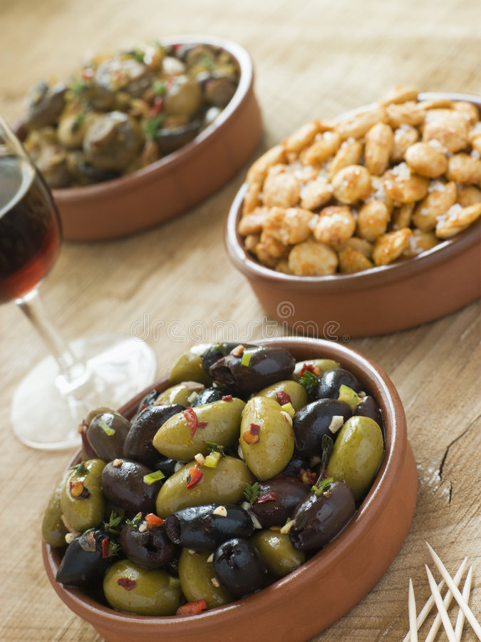Free Selection Of Tapas Stock Images - 5950414