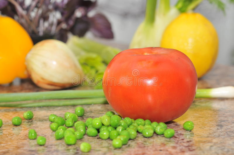 Selection of vegetables royalty free stock photo