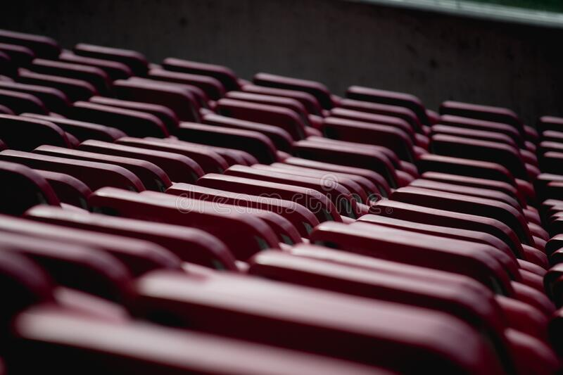 Selective Focus Photograph of Red Oval Shape Equipment stock photography
