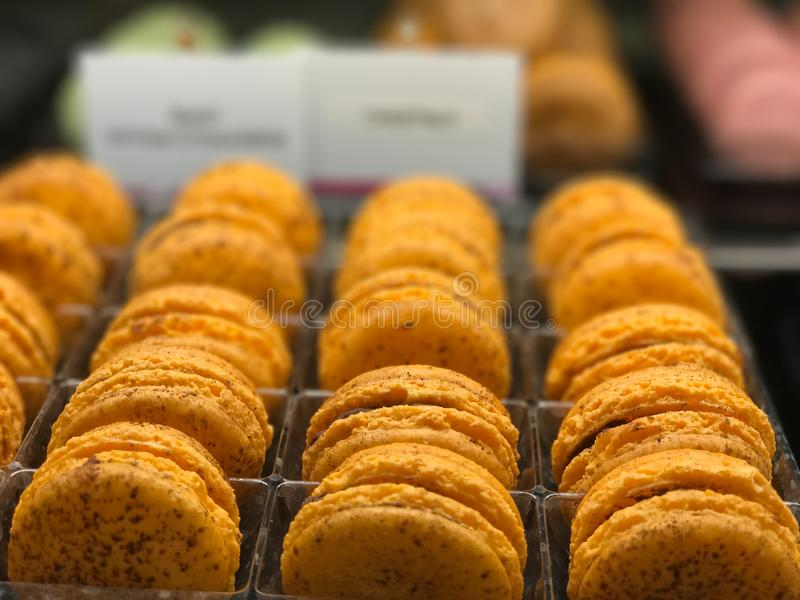 Selective Focus Photography of Baked Macaroons stock photos