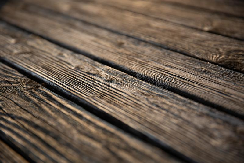 Selective Focus Photography of Brown Wooden Floor Parquet royalty free stock photo