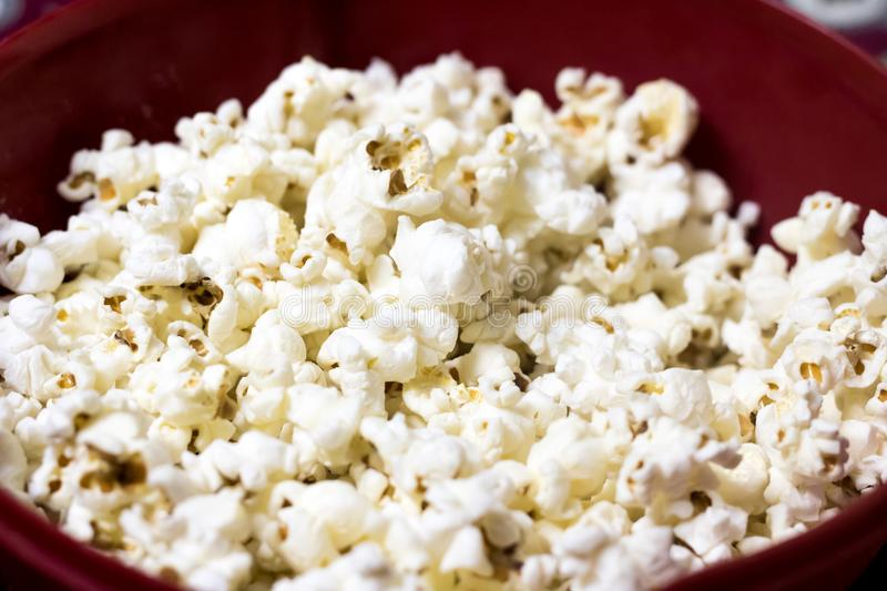 Selective Focus Photography of Popcorns on Bowl stock photography