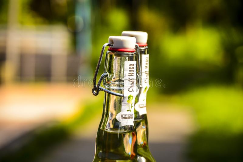 Selective Focus Photography Of Two Clear Air Tight Bottles Free Public Domain Cc0 Image