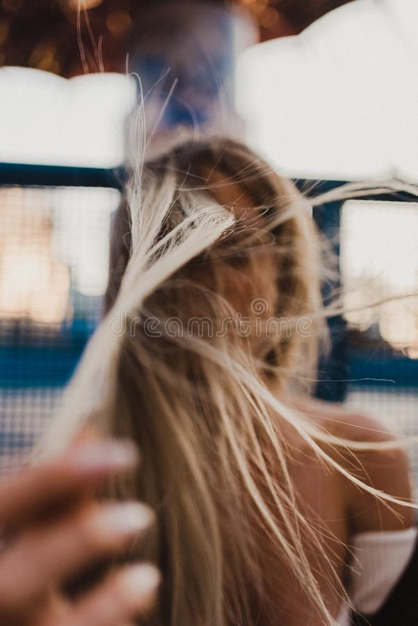 Selective Focus Photography Of A Woman's Hair Free Public Domain Cc0 Image