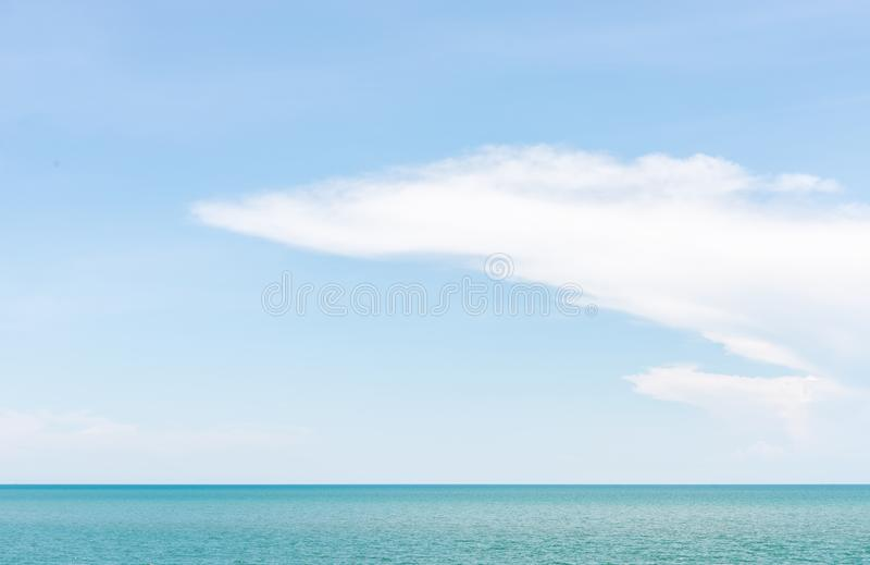 Selective focus of the seascape royalty free stock images