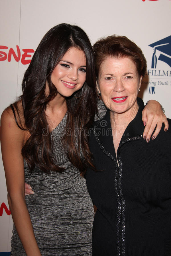 Selena Gómez imágenes de archivo libres de regalías