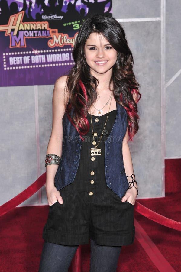, Selena Gomez photo libre de droits