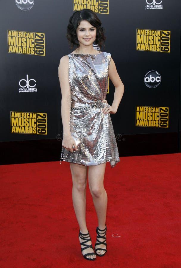 Selena Gomez. The 2009 American Music Awards - Arrivals.Nokia Theatre L.A. Live.Los Angeles, CA.November 22, 2009.2009 Hutchins Photo stock photos