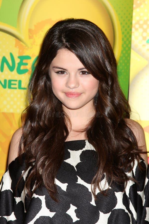 Selena Gomez foto de archivo libre de regalías