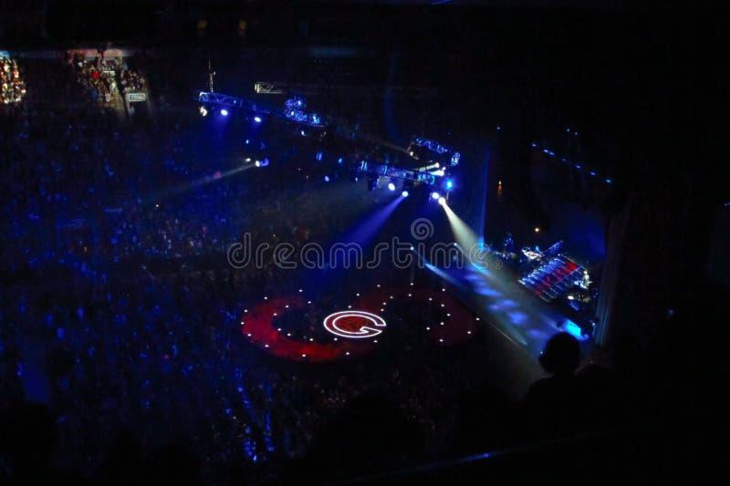 Selena Gomez Concert - Toronto foto de archivo