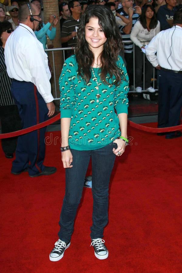 Selena Gomez, The Game royalty free stock image