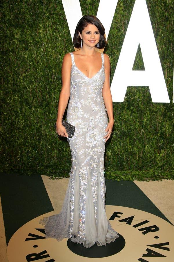 Selena Gomez, Gomez, Vanity Fair royalty free stock images
