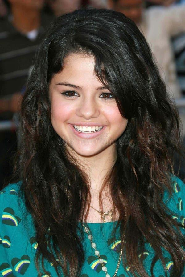 Selena Gomez, le jeu photos stock