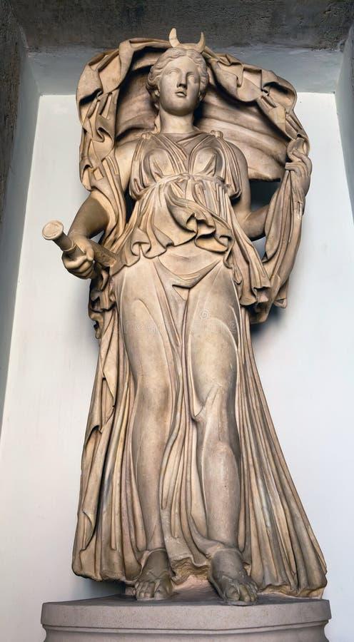 Selene - de godin van de Maan royalty-vrije stock afbeelding