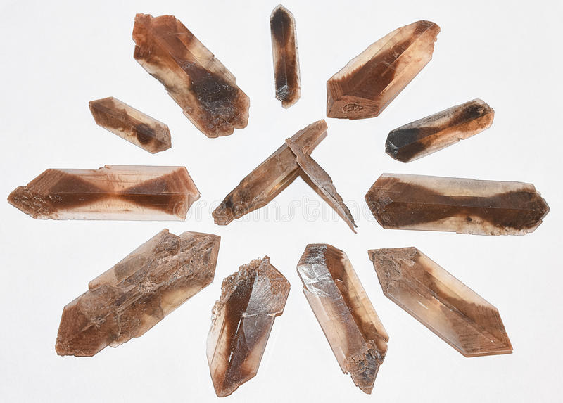 Selenium Zoute Kristallen van Oklahoma stock foto