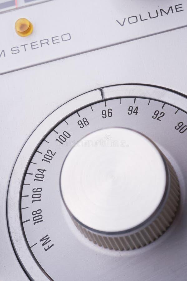 Seletor de rádio foto de stock