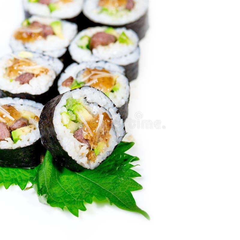 Download Selezione Choice Dell'assortimento Di Miscuglio Dei Sushi Freschi Fotografia Stock - Immagine di preparato, tonno: 55360336