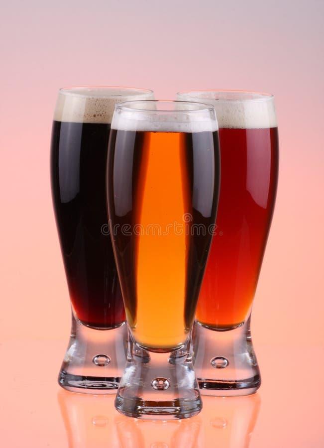 Selezione della birra immagine stock libera da diritti