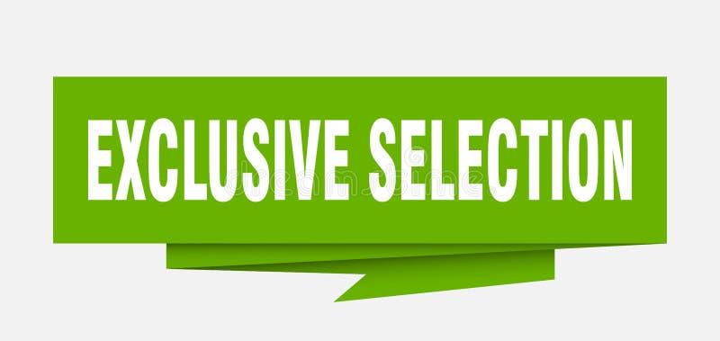 selezione esclusiva illustrazione di stock