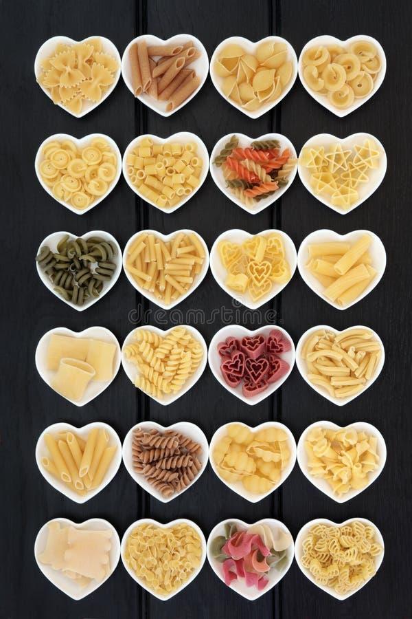 Selezione Italiana Della Pasta Fotografia Stock