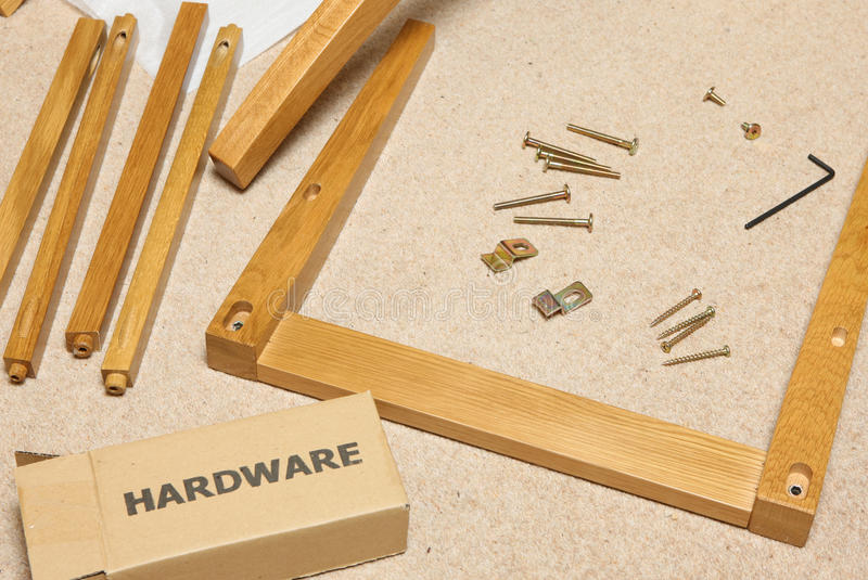 Download Self Assembly Furniture Stock Photo. Image Of Putting   15505990
