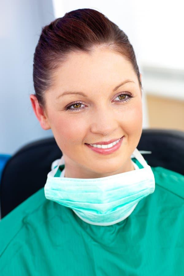 Download Self-assured Female Surgeon Wearing Scrubs Stock Photo - Image: 15647708