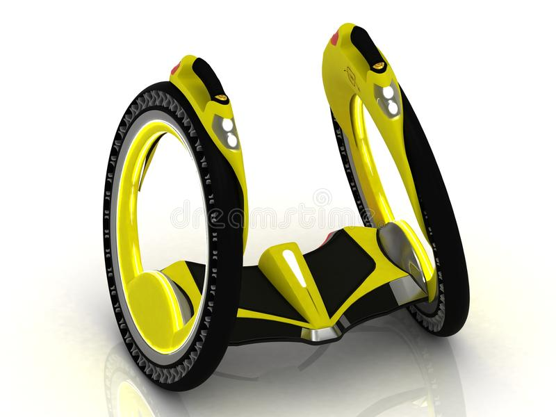 Self-balancing Electric Scooter Stock Photography